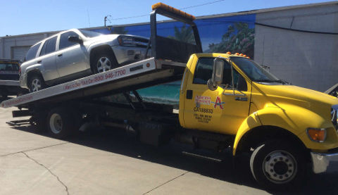 Cash For Cars San Francisco premium Flatbed Tow Truck